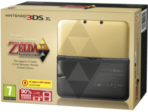 Nintendo 3DS XL Console with Zelda