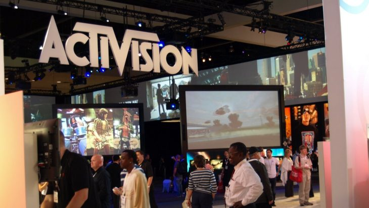 Activision Stand at E3