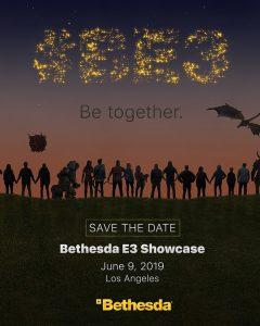 Bethesda confirm their E3 press conference for 2019