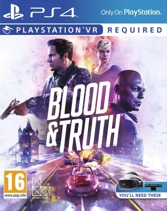 Blood & Truth - PS VR - PS4