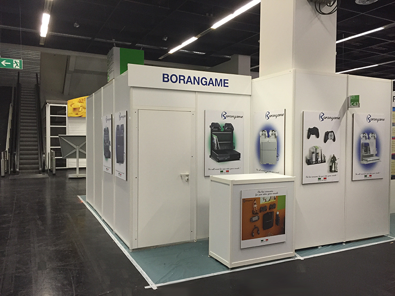 Borangame Booth at Gamescom 2015