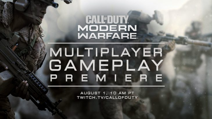 Call of Duty Modern Warfare Multiplayer Reveal Announcement
