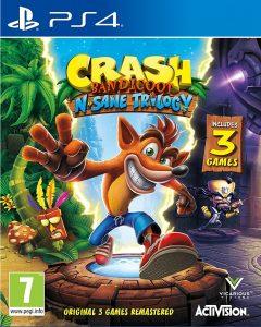 Crash Bandicoot N. Sane Trilogy on top 5th week