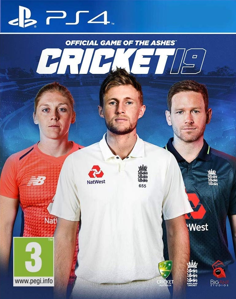 Cricket 19 - The Official Game of the Ashes - PS4
