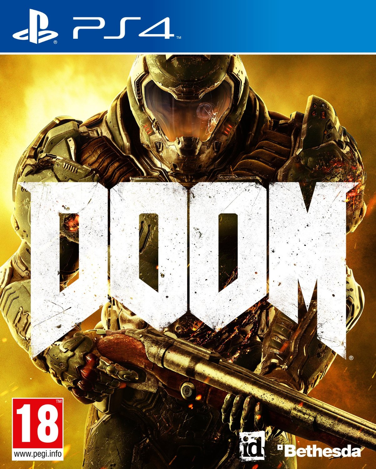 DOOM - PS4 - Cover
