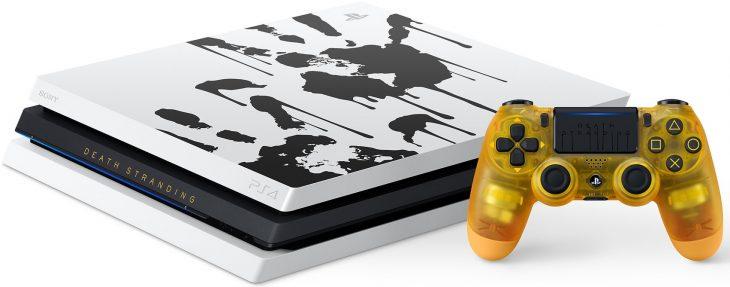 Death Stranding Limited Edition PS4 Pro Bundle