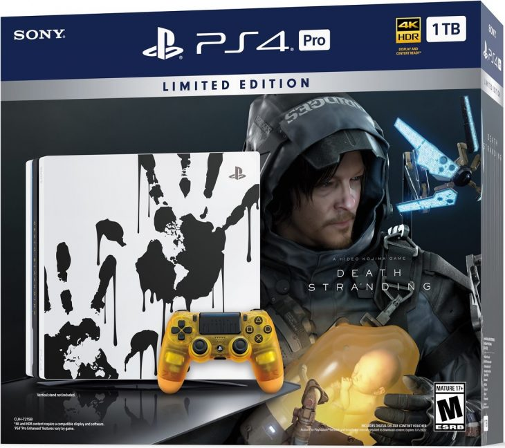 Death Stranding Limited Edition PS4 Pro Bundle Boxed