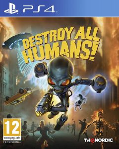 Special editions of Destroy All Humans! remake announced