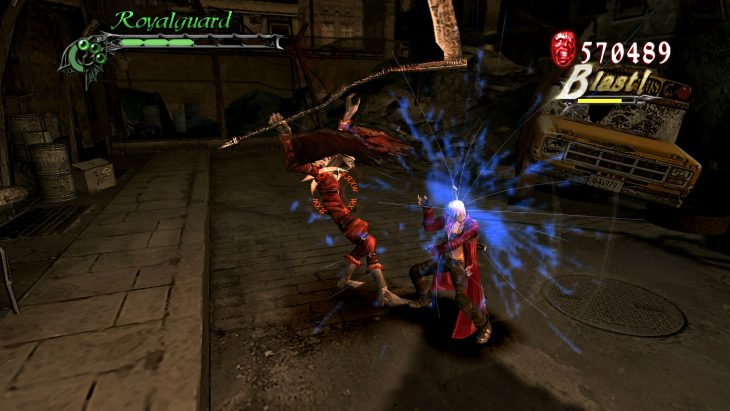 Devil May Cry 3 Styles