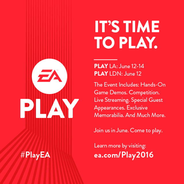 EA Play Banner