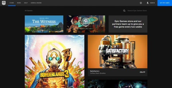 Epic Games Store - Screenshot - 07-04-19