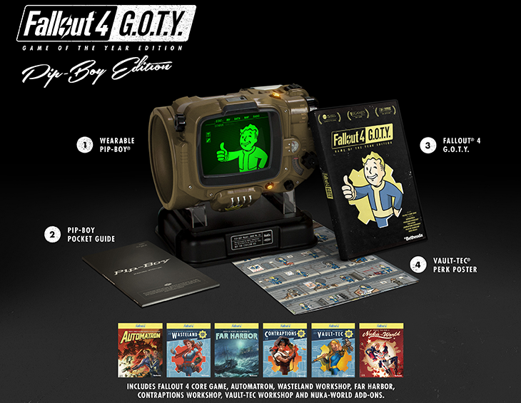 Fallout 4 GOTY PipBoy Edition