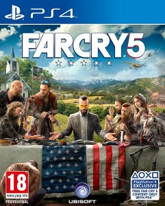 Far Cry 5 on top for the 3rd consecutive week
