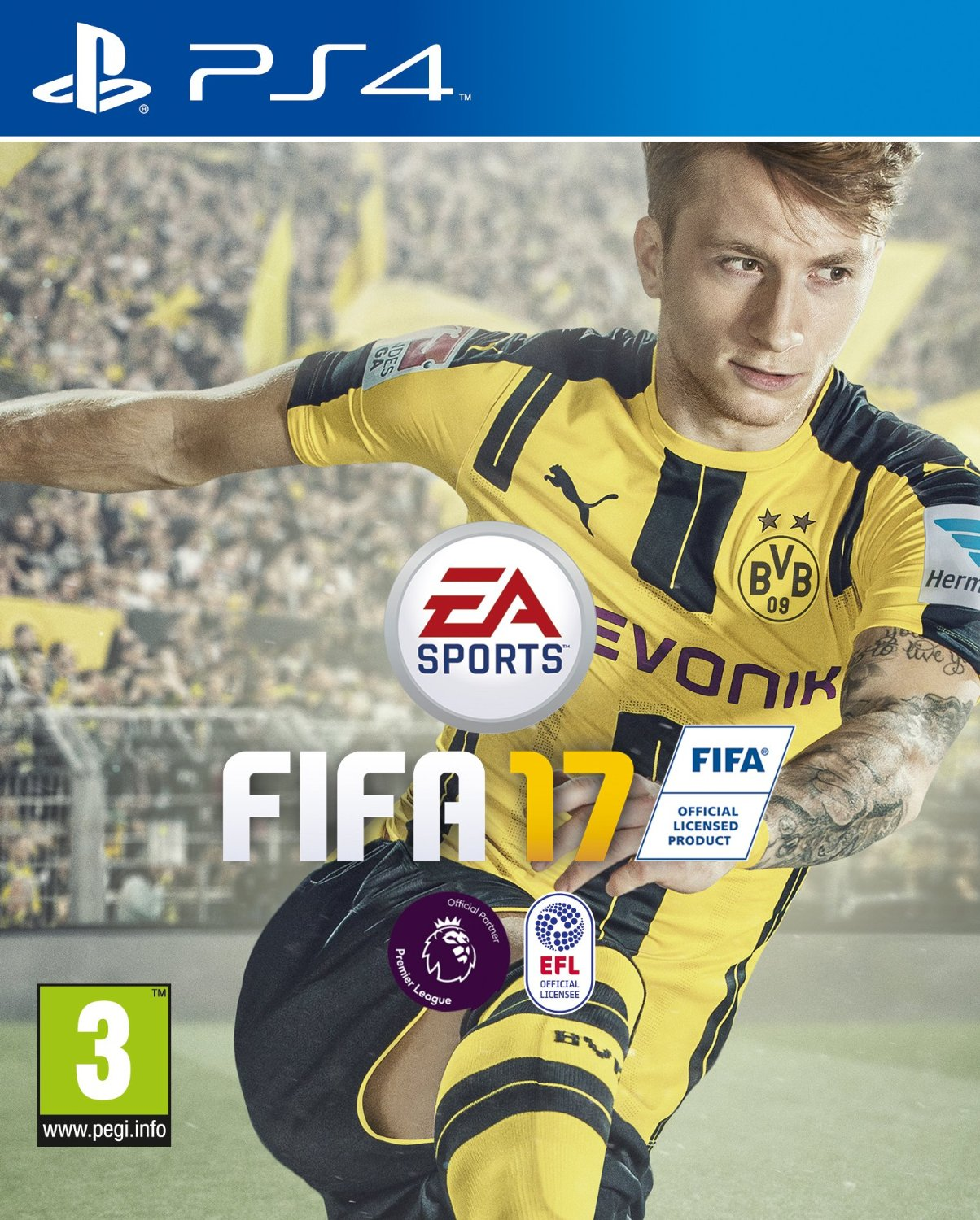 Fifa 17 - Cover - PS4
