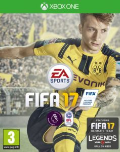Fifa 17 - Cover - Xbox One