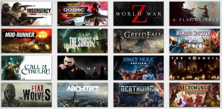 Focus Home Interactive - Games - Grid