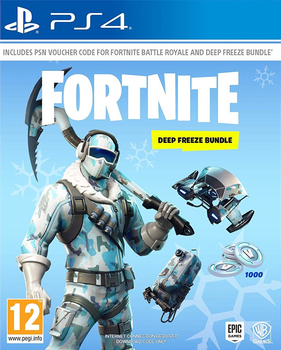 Fortnite Deep Freeze Bundle - PS4