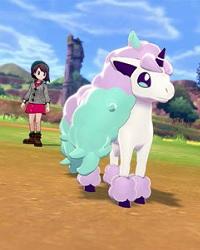 Galarian Ponyta revealed for Pokemon Sword and Shield