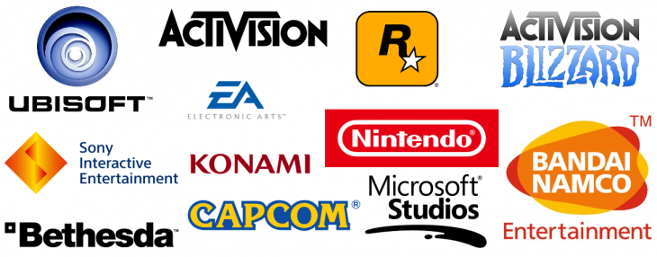 Game Publishers Logos