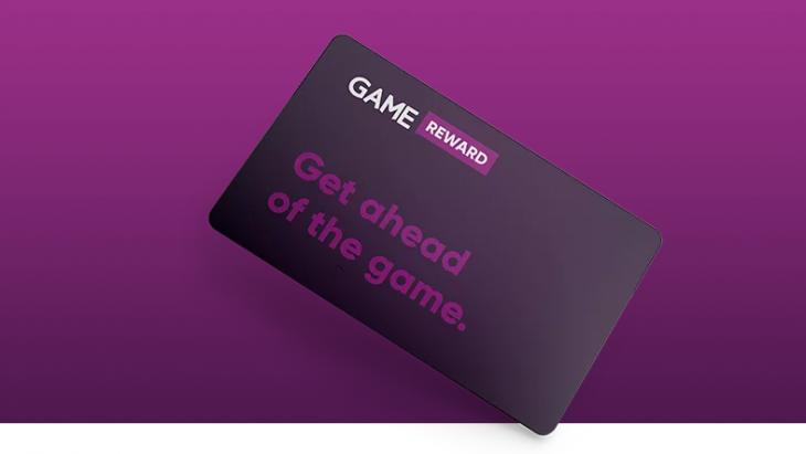 Game Reward Card