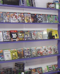 Growth in sales of physical games