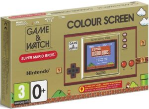 Game & Watch Super Mario Bros - Box