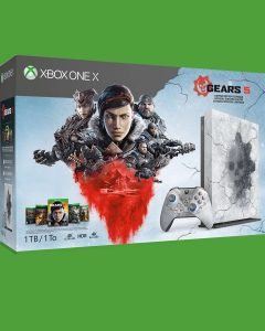Microsoft announced Gears 5 Limited Edition Xbox One X Console