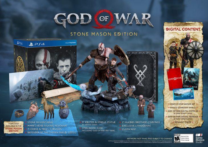 God of War - Stone Mason Edition