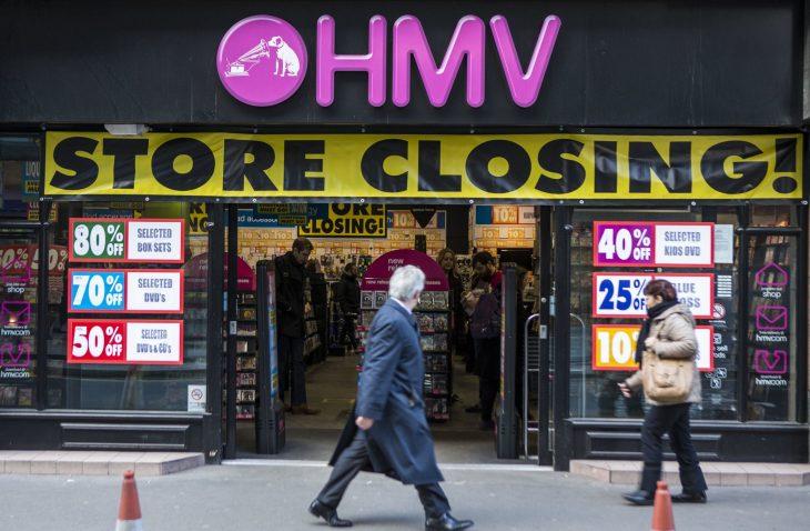 HMV Closing