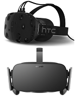 Time to Pre-Order – HTC Vive vs Oculus Rift