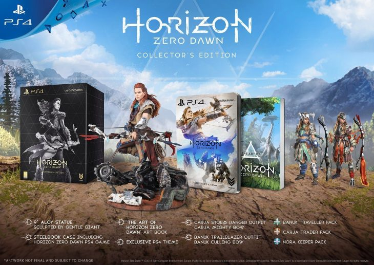Horizon Zero Dawn Collectors Edition - PS4