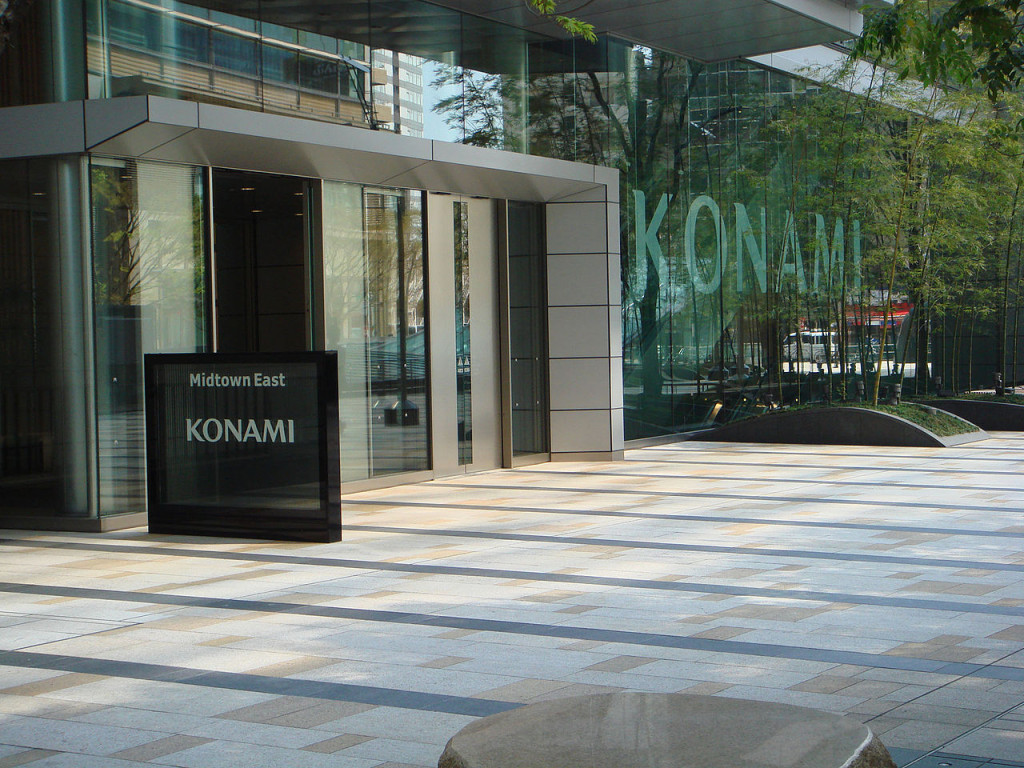 Konami Corporation Entrance