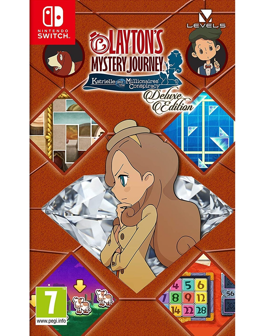 Layton's Mystery Journey Katrielle and the Millionaires' Conspiracy - Switch