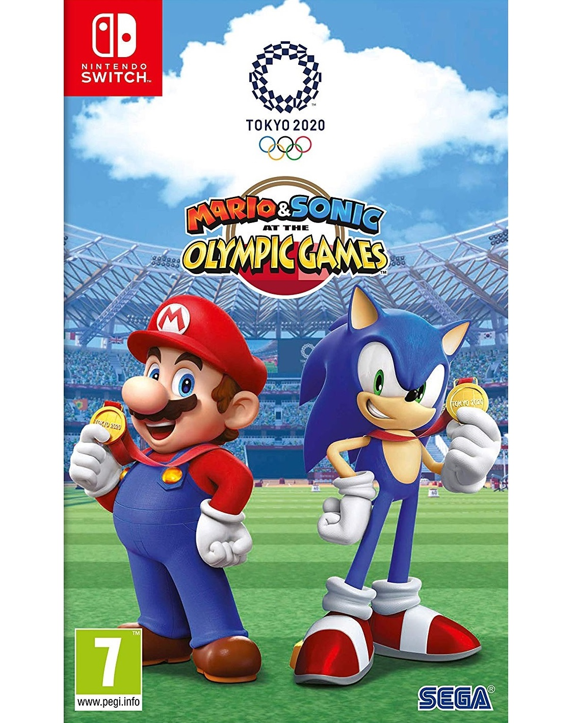 Mario and Sonic at the Olympic Games Tokyo 2020 - Switch