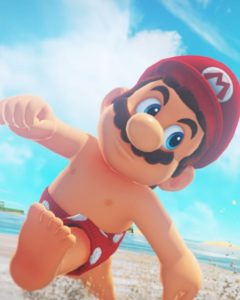 Why Mario has nipples but no belly button