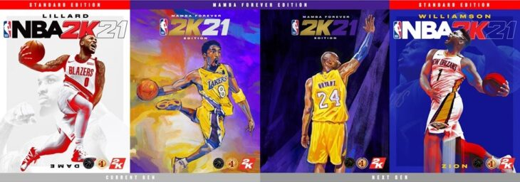 NBA 2K21 - All Covers