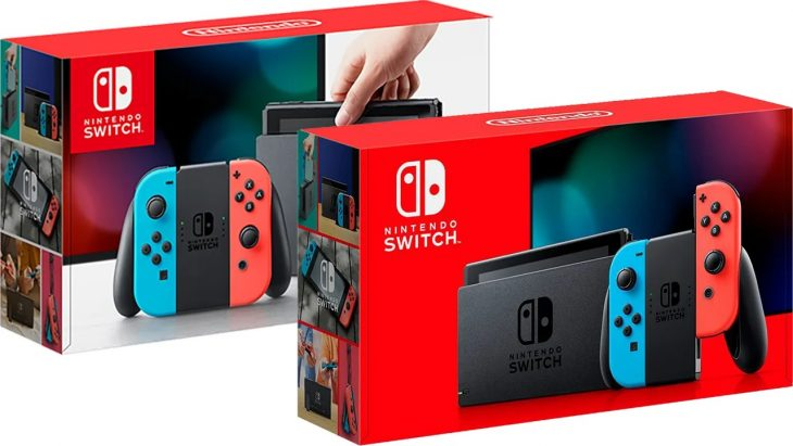 New Nintendo Switch model 2019