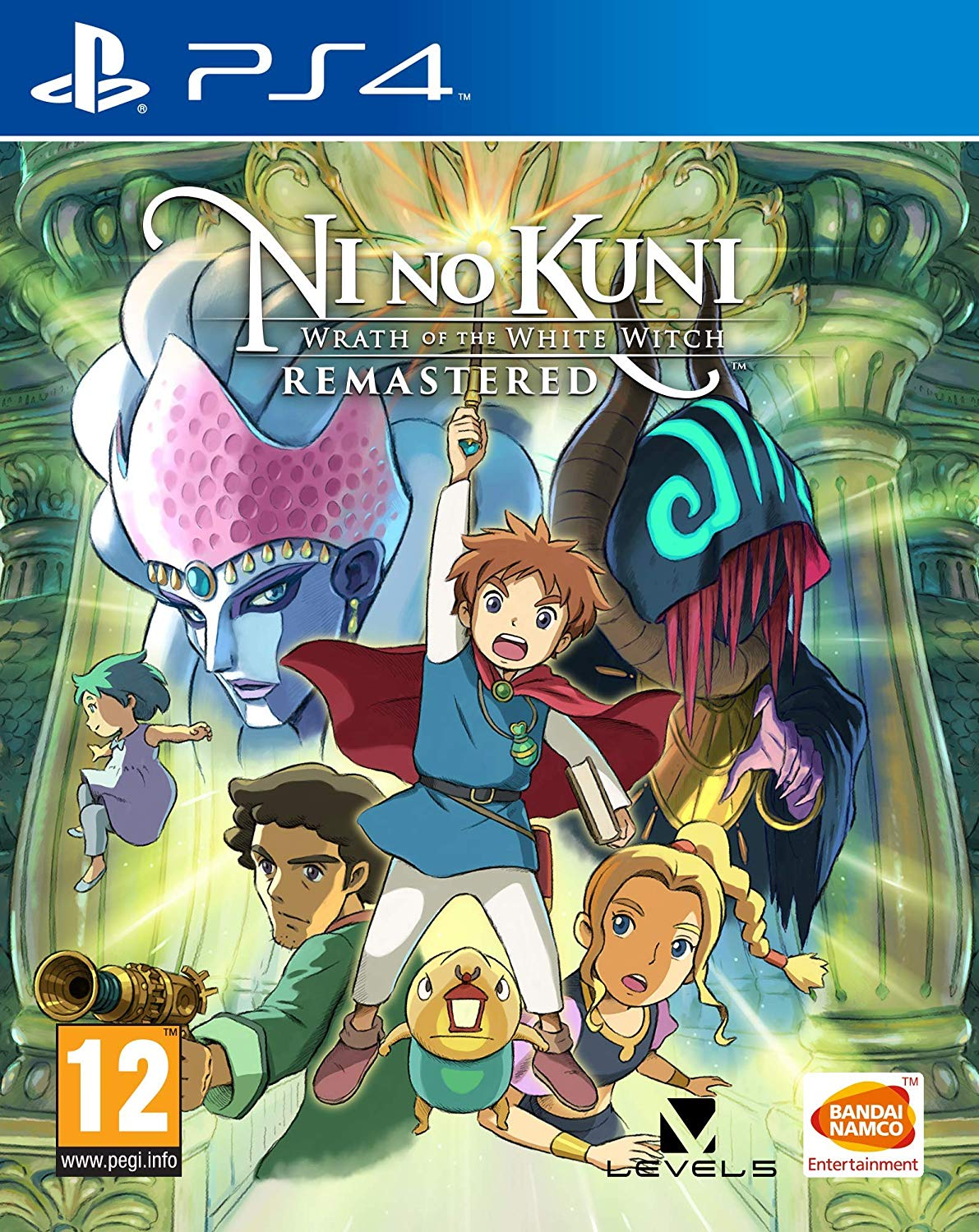 Ni No Kuni Wrath Of The White Witch Remastered - PS4
