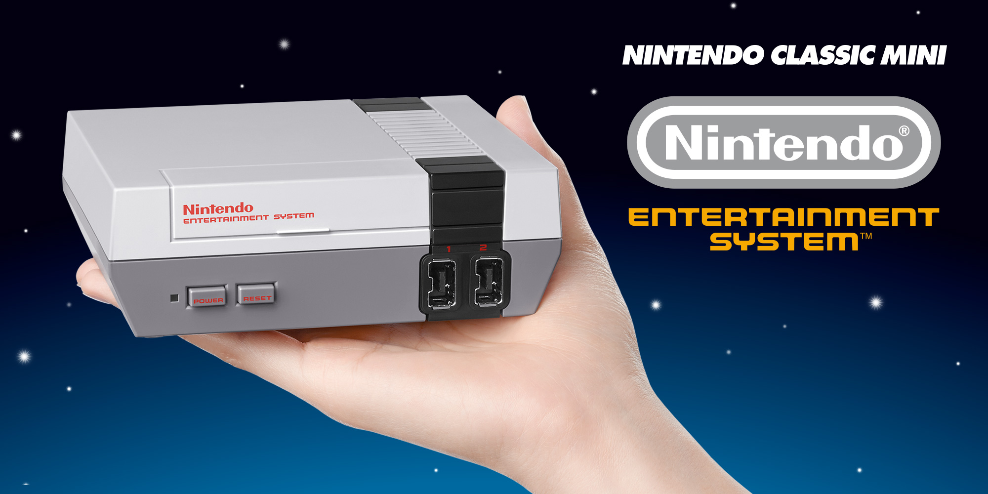 Nintendo Classic Mini NES - Announcement