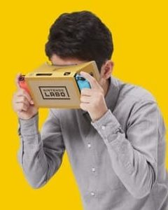 VR announced for Nintendo Labo
