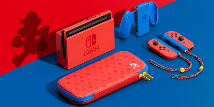 Nintendo Mario Limited Edition Switch Console