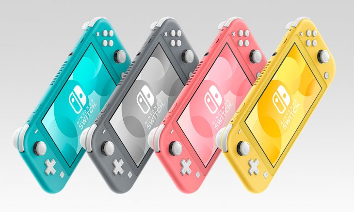 Nintendo Switch Lite Four Colors