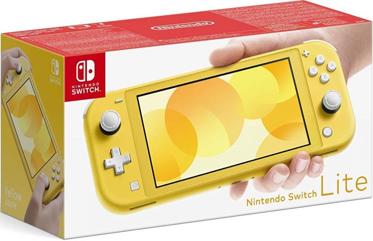 Nintendo Switch Lite console boxed