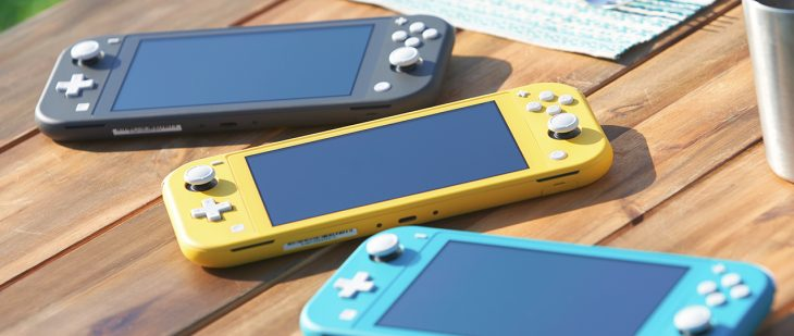Nintendo Switch Lite on Table