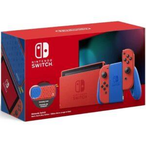 Nintendo Switch (Mario Red & Blue Edition)