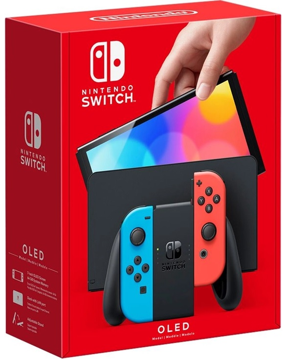 Nintendo Switch OLED console - Reveal
