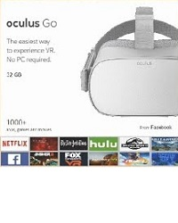 Oculus launch the Oculus Go standalone headset