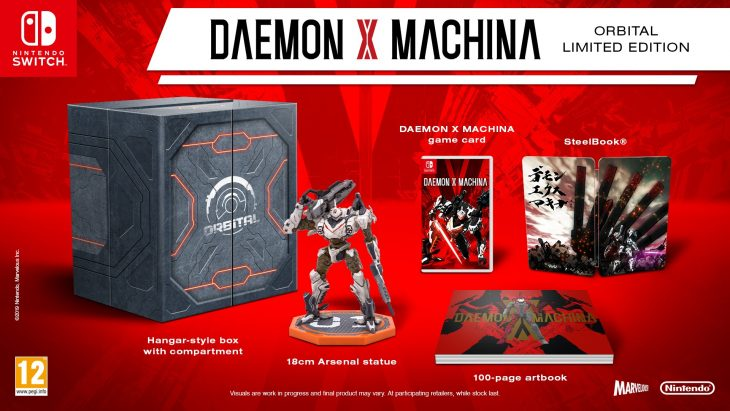 Orbital Limited Edition of Daemon X Machina