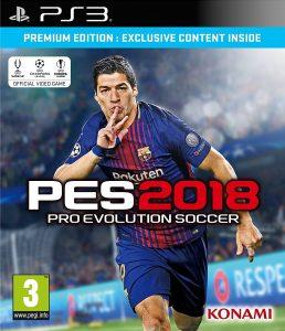 PES 2018 - Premium - PS3