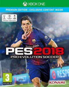 PES 2018 - Premium - Xbox One
